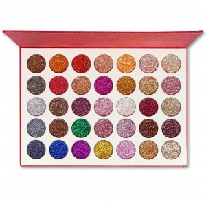 Kara Beauty Galaxy Glitter Eyeshadow Palette - ES18