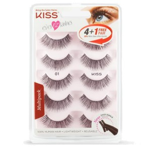 Kiss Ever EZ Lash Multipack - #01