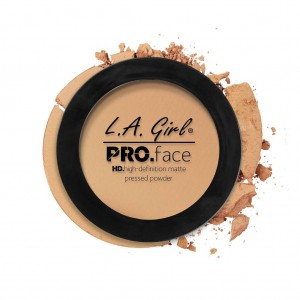 L.A. Girl HD Pro Face Pressed Powder - Soft Honey