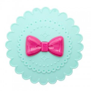 Ribbon Eyelash Case Turquoise