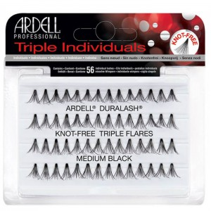 Ardell Triple Individuals Knot-Free Flares - Medium