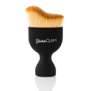Ghalichi Glam Perfect Contour Face Brush - Black