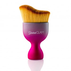 Ghalichi Glam Perfect Contour Face Brush - Pink