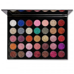 Kara Beauty 35 Color Galaxy Dust Glitter Eyeshadow Palette - ES17