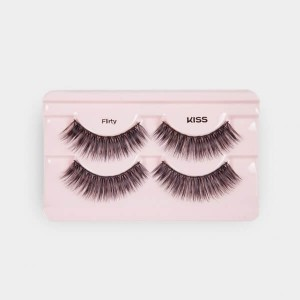 Kiss Looks So Natural Lashes Double Pack - Flirty
