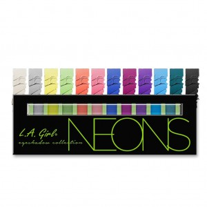 L.A. Girl Beauty Brick Eyeshadow - Neons
