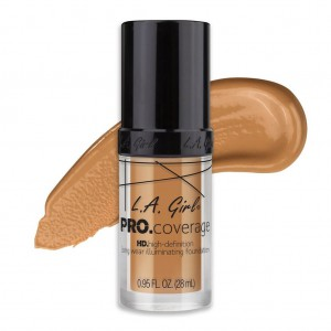 L.A. Girl PRO Coverage HD Foundation - Nude Beige