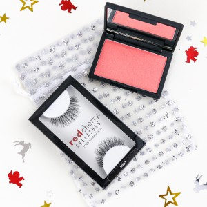 Red Cherry Lashes & Sleek Blush Gift Set