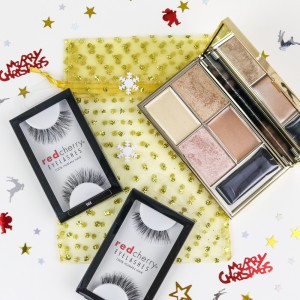 Red Cherry Lashes & Sleek Highlighter Gift Set