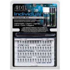 Ardell Individual Lashes Starter Kit (Knot-free)