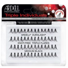 Ardell Triple Individuals Knot-Free Flares Medium
