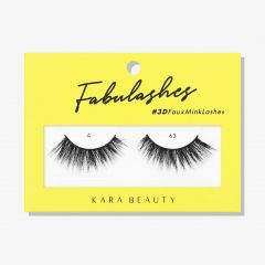 Kara Beauty 3D Faux Mink Lashes A63