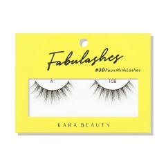 Kara Beauty 3D Faux Mink Lashes A108