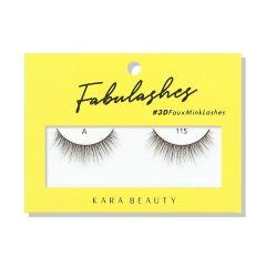 Kara Beauty 3D Faux Mink Lashes A115