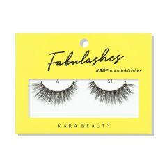 Kara Beauty 3D Faux Mink Lashes A51