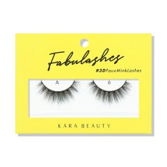 Kara Beauty 3D Faux Mink Lashes A6