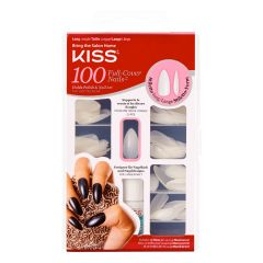 Kiss 100 Full Cover Nail Kit Stiletto Kunstnagels