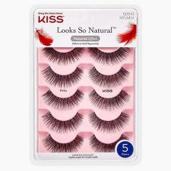 Kiss Looks So Natural Lashes Multipack - Flirty