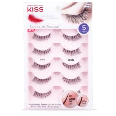 Kiss Looks So Natural Lashes Multipack - Sultry
