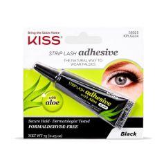 Kiss Strip Lash Adhesive met Aloe (donker)