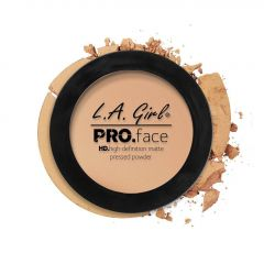 L.A. Girl HD Pro Face Pressed Powder - Nude Beige