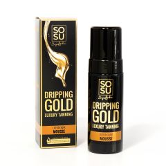SOSU Dripping Gold Luxury Tanning Mousse Ultra Dark