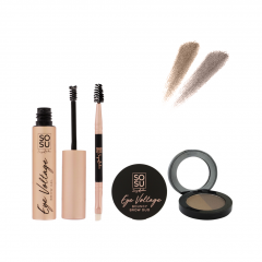 SOSU by SJ Ultimate Brow Kit Light-Medium