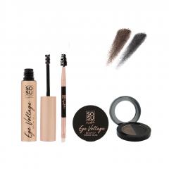 SOSU by SJ Ultimate Brow Kit Medium-Dark