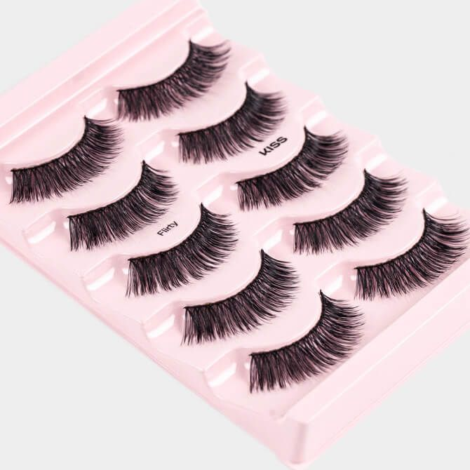 942f8498710 Kiss Looks So Natural Lashes Multipack - Flirty kopen - LashAddict ...