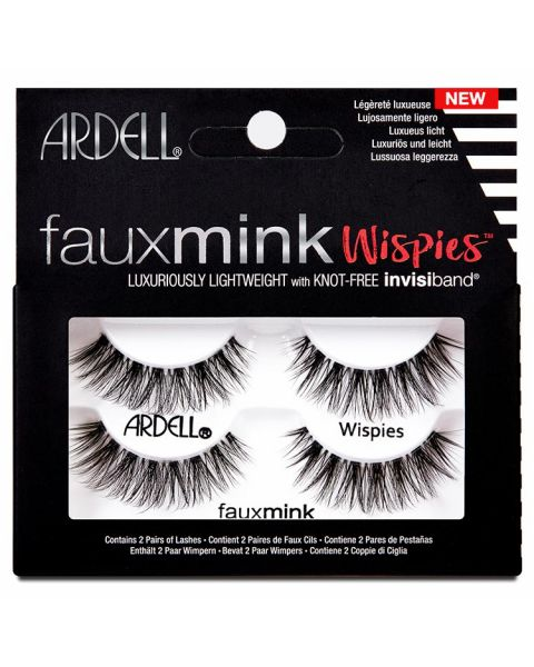 Ardell Faux Mink Lashes Wispies Twin Pack