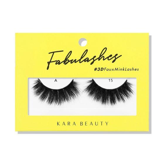Kara Beauty 3D Faux Mink Lashes A15