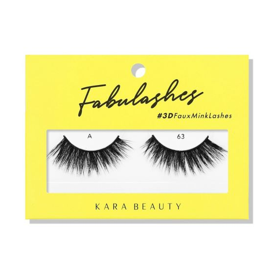 Kara Beauty 3D Faux Mink Lashes A63