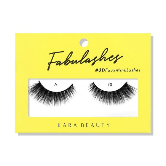 Kara Beauty 3D Faux Mink Lashes A70