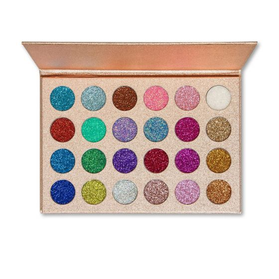 Kara Beauty 24 Color Galaxy Dust Glitter Eyeshadow Palette - ES16